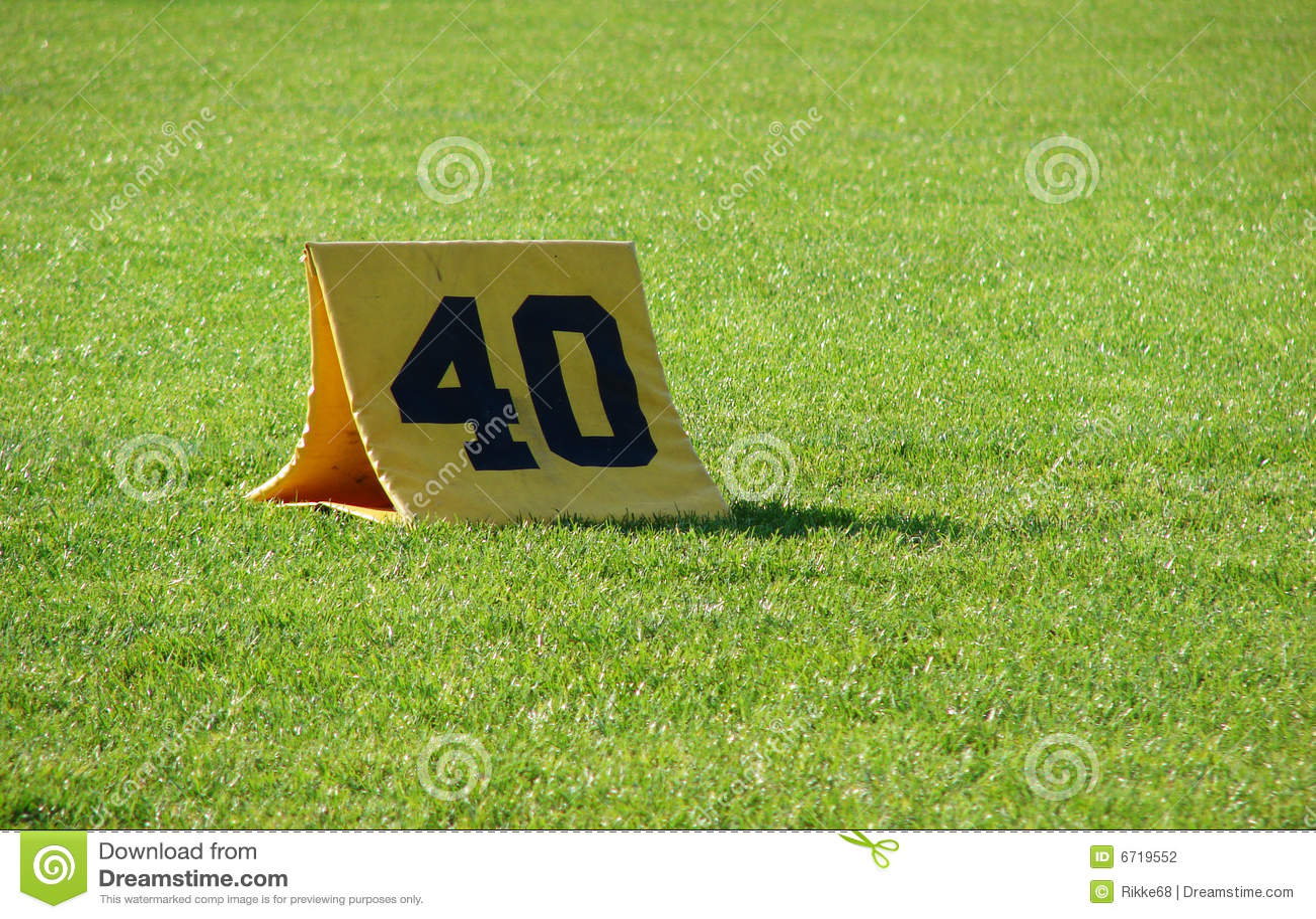 40 Yards