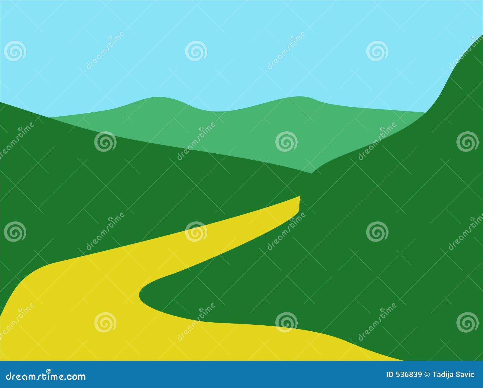 Download 404横向 库存例证. 插画 包括有 图画, 草本, 横向, 例证, 植物群, 凹道, 晒裂, 陆运, 天空 - 536839