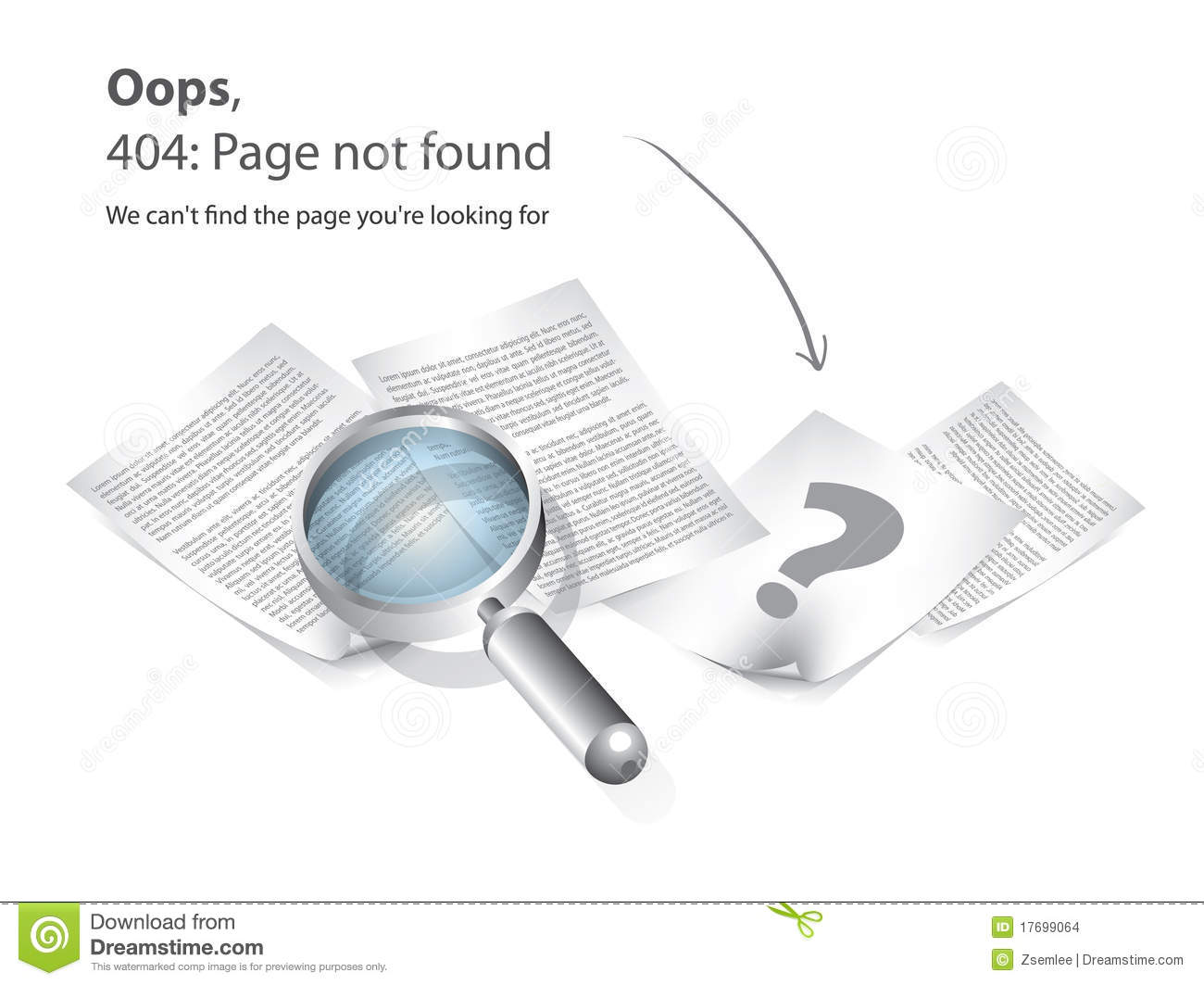 Image 404 page not found on toilet paper roll - 5