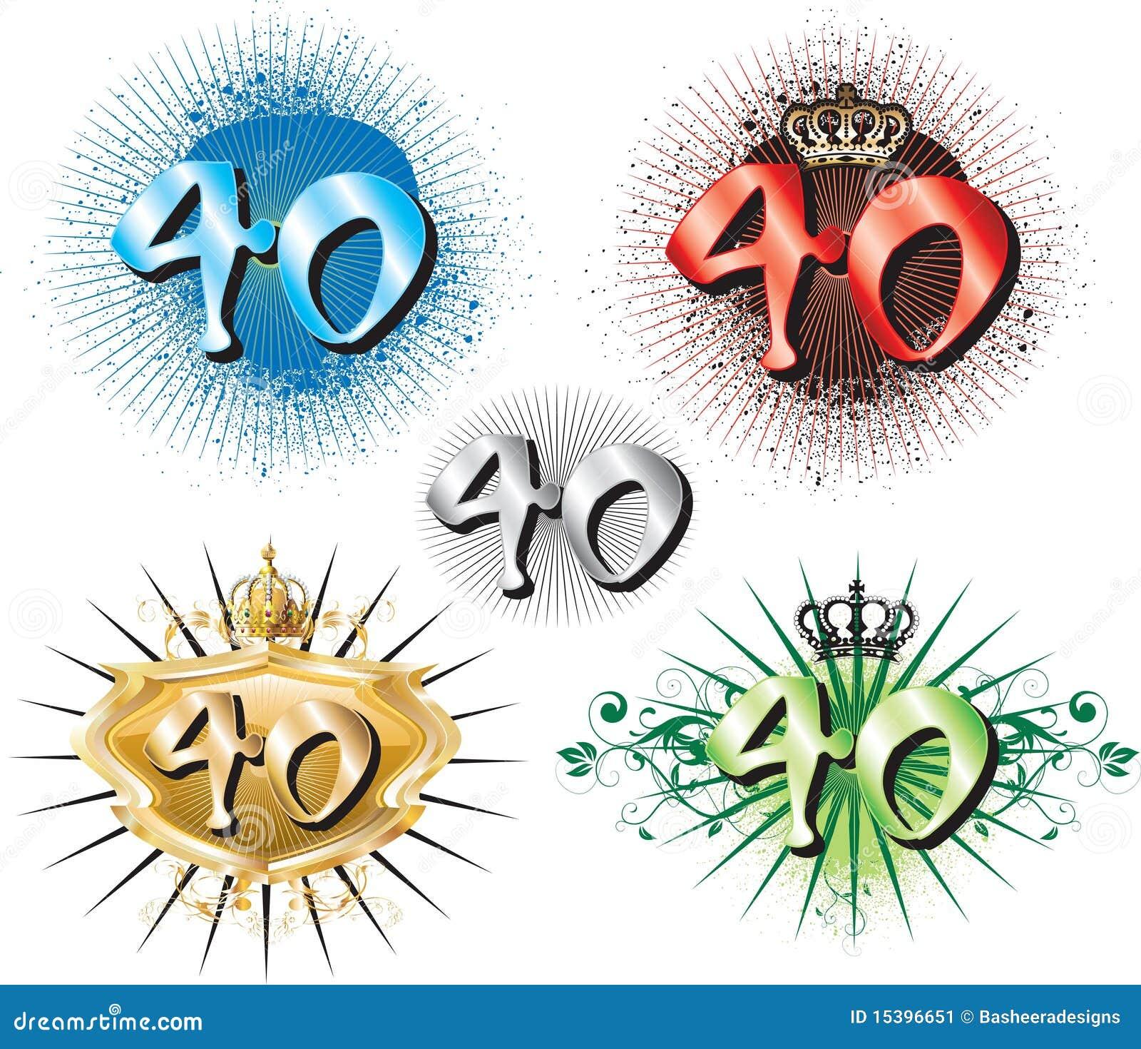 Spandoekteksten 40 Jaar Verjaardag