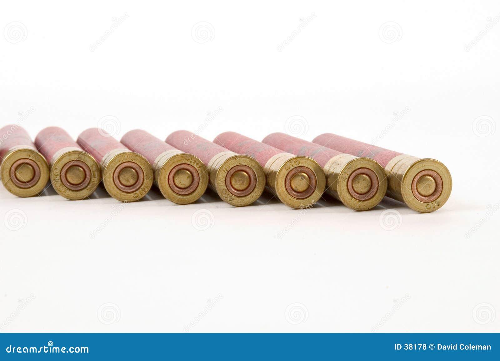 410黄铜末端壳猎枪视图