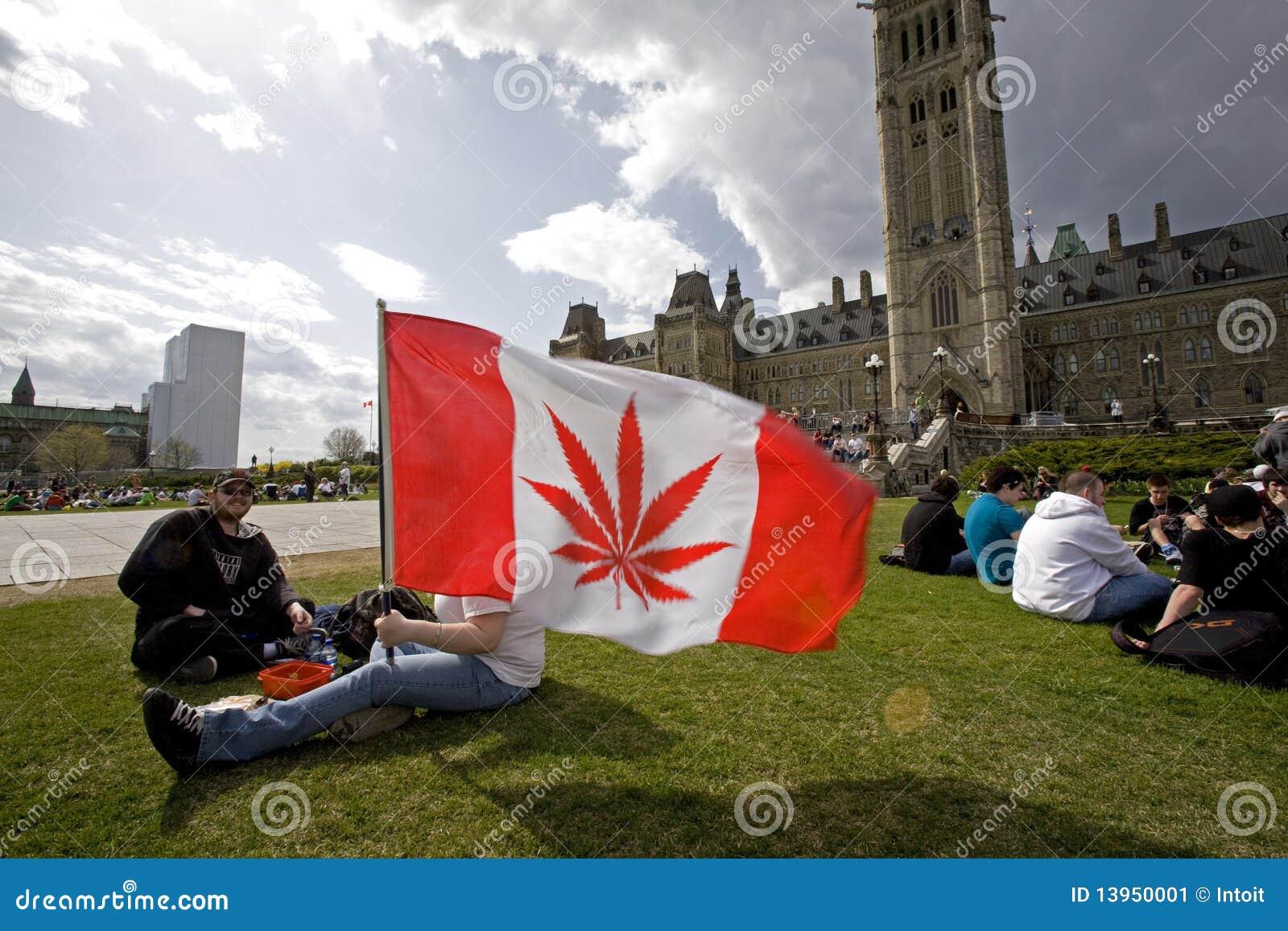 420 Parliament Hill - Marijuana Activists