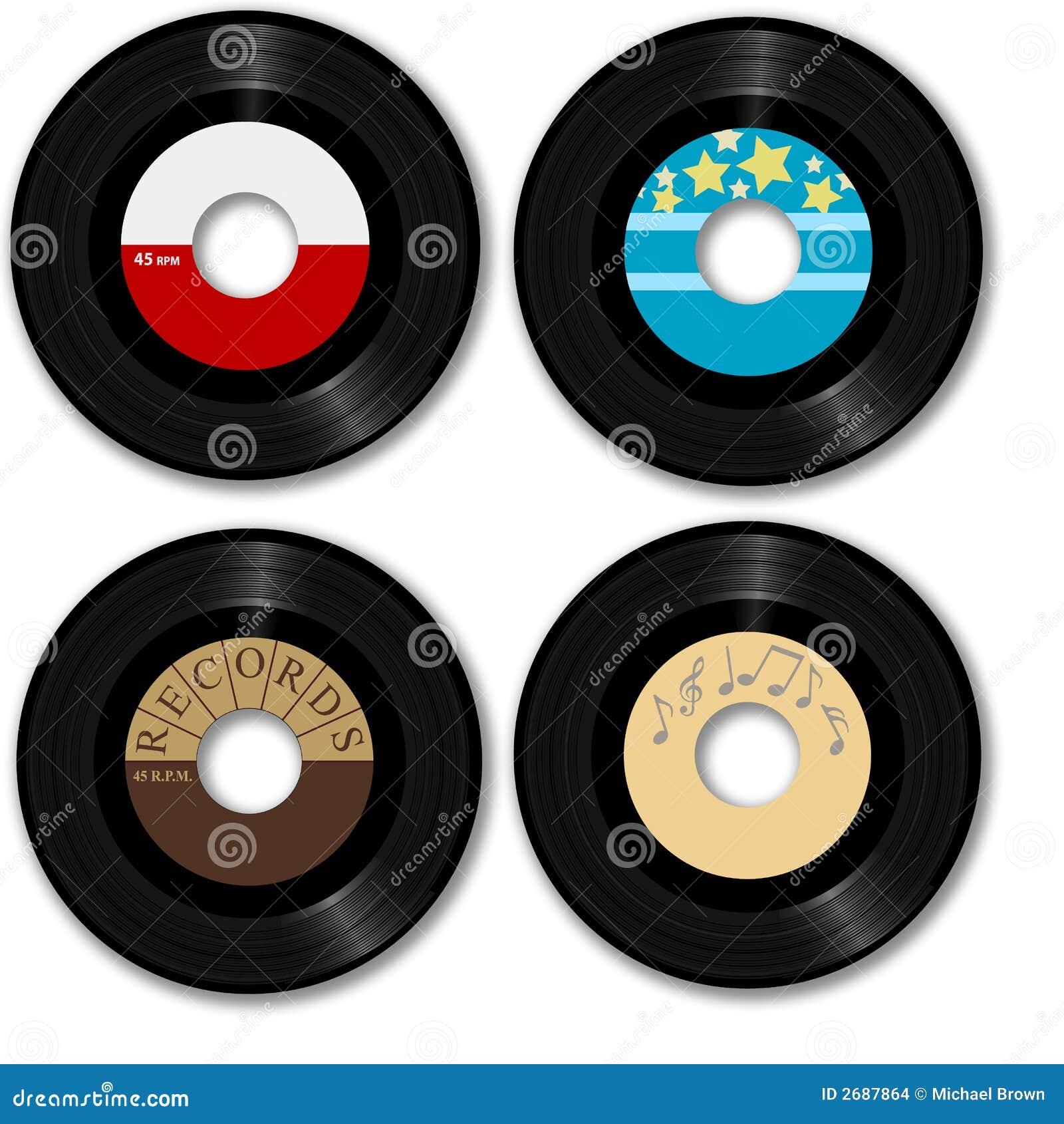 45 рекордных ретро rpm