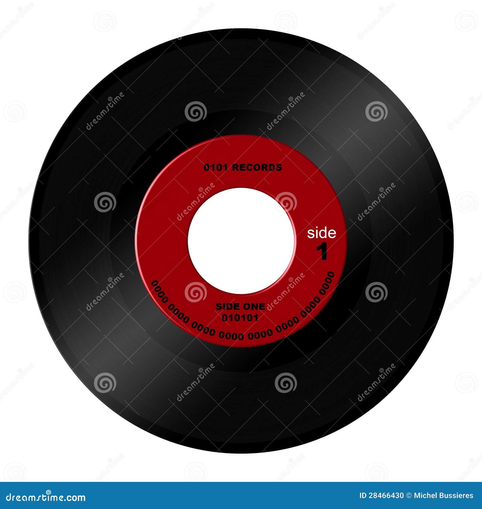 45 Rpm Record Stock Photo Illustration Of Classic Music