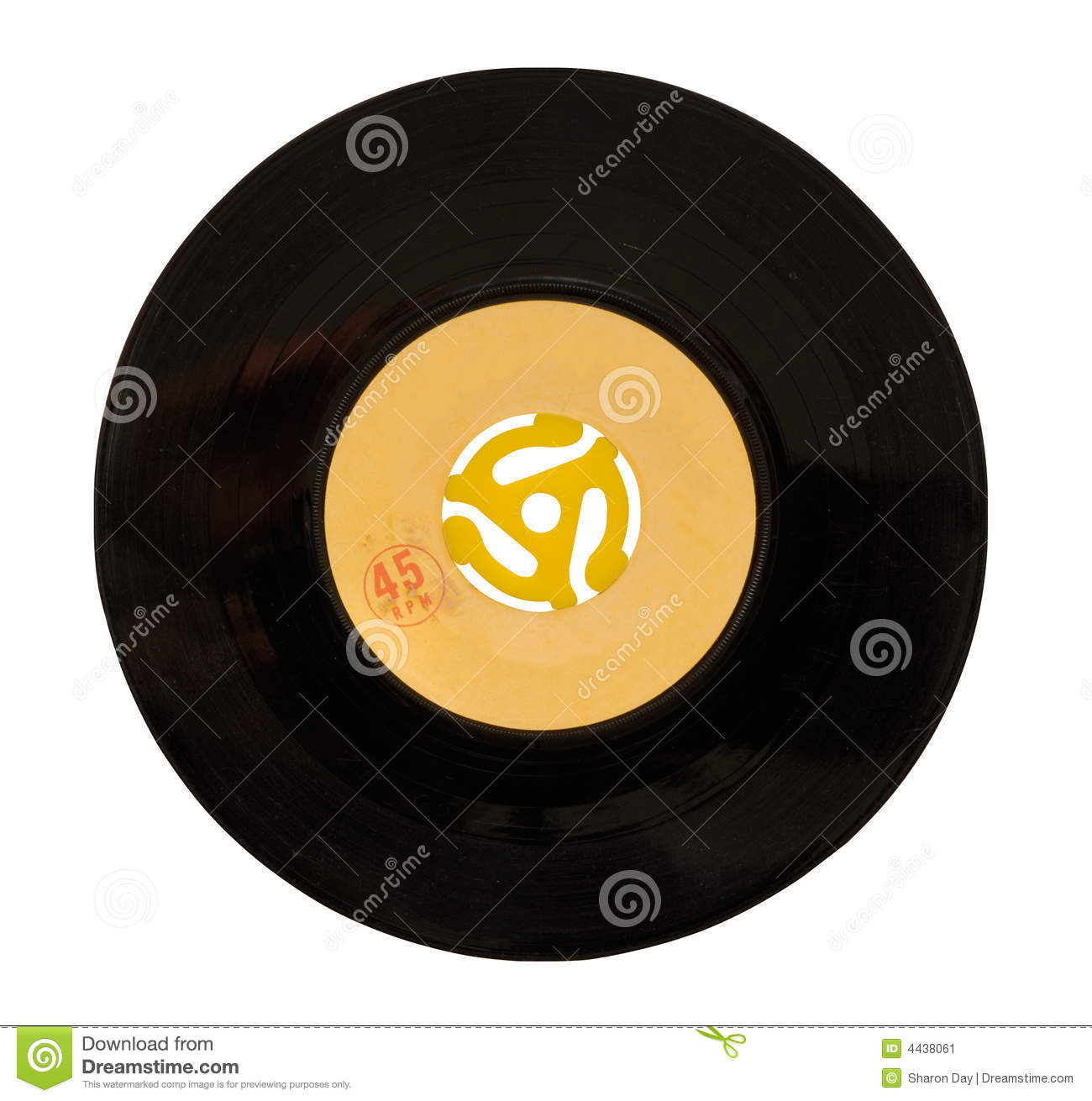 45 Rpm Record Stock Image Image 4438061