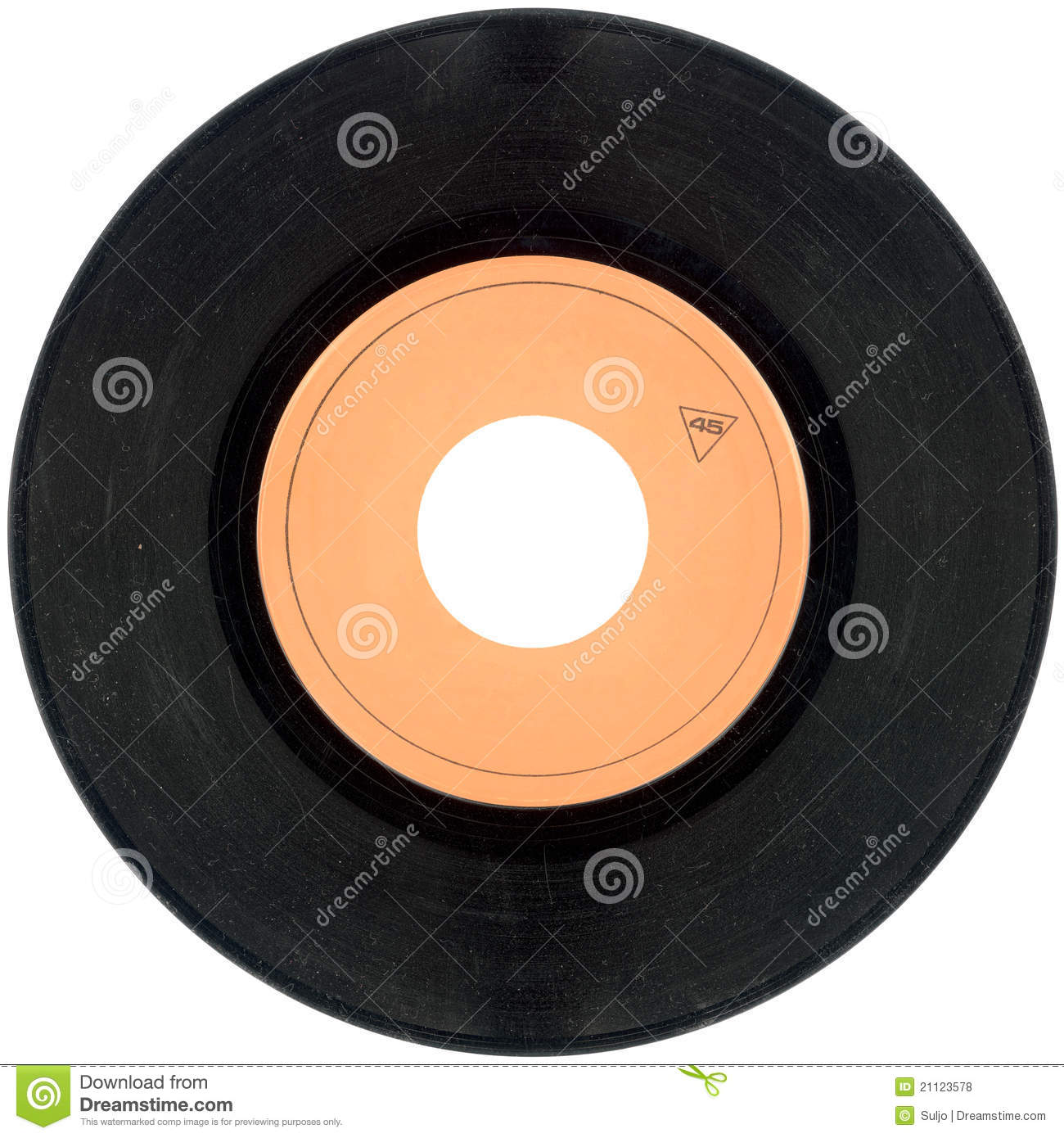 This is a photo of Tactueux Free Vinyl Record Label Template
