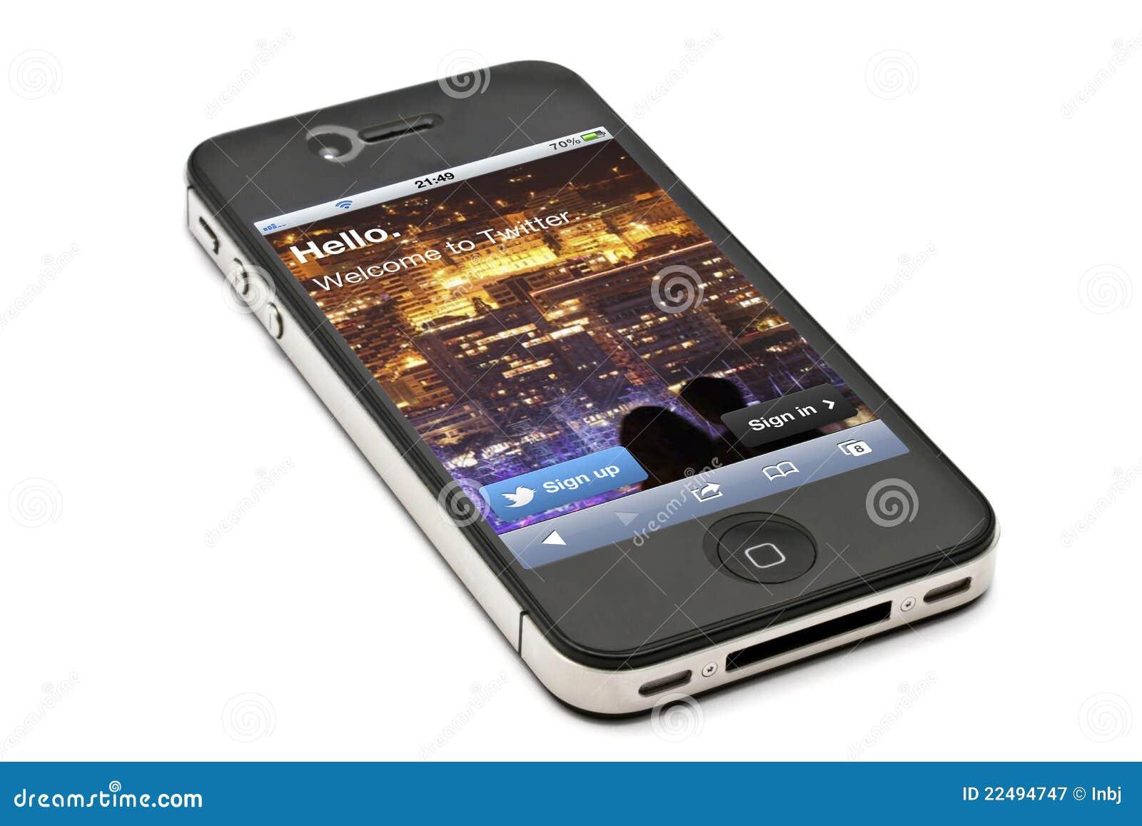 4s iphone jabłczany twiiter
