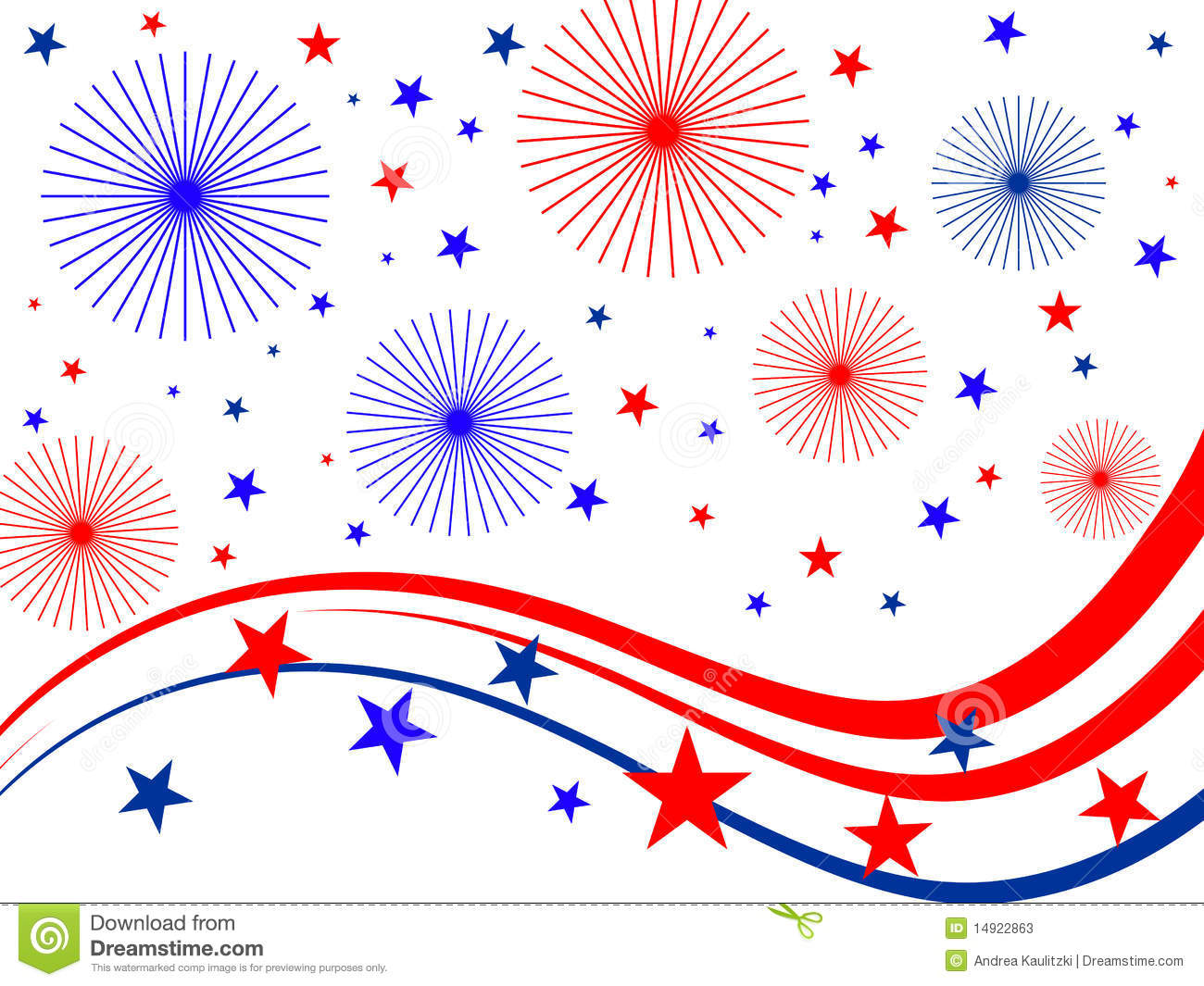 4th July Fireworks Stock Photos - Image: 14922863