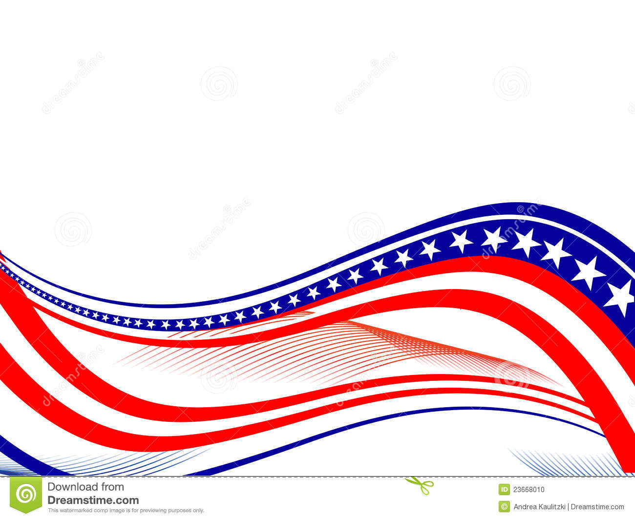 4th July Independence Day Stock Illustration Image