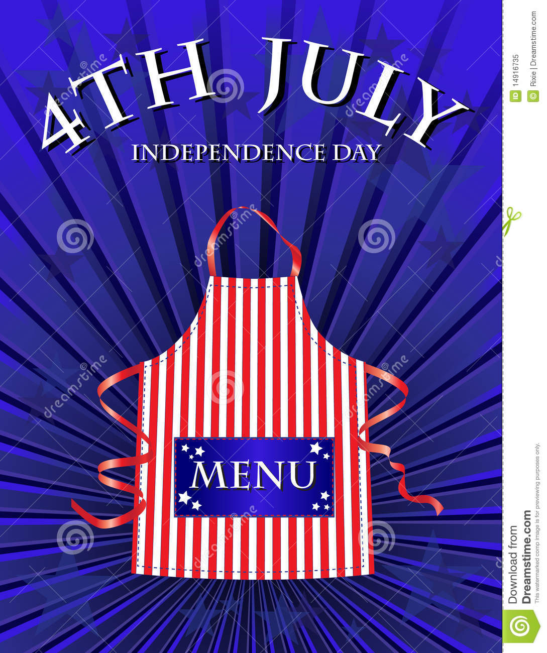 4th july menu royalty free stock photo image 14916735 for 4th of july menu template