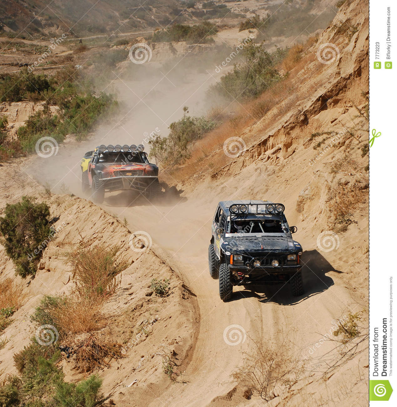4x4 off road truck race stock photos   image 7773223