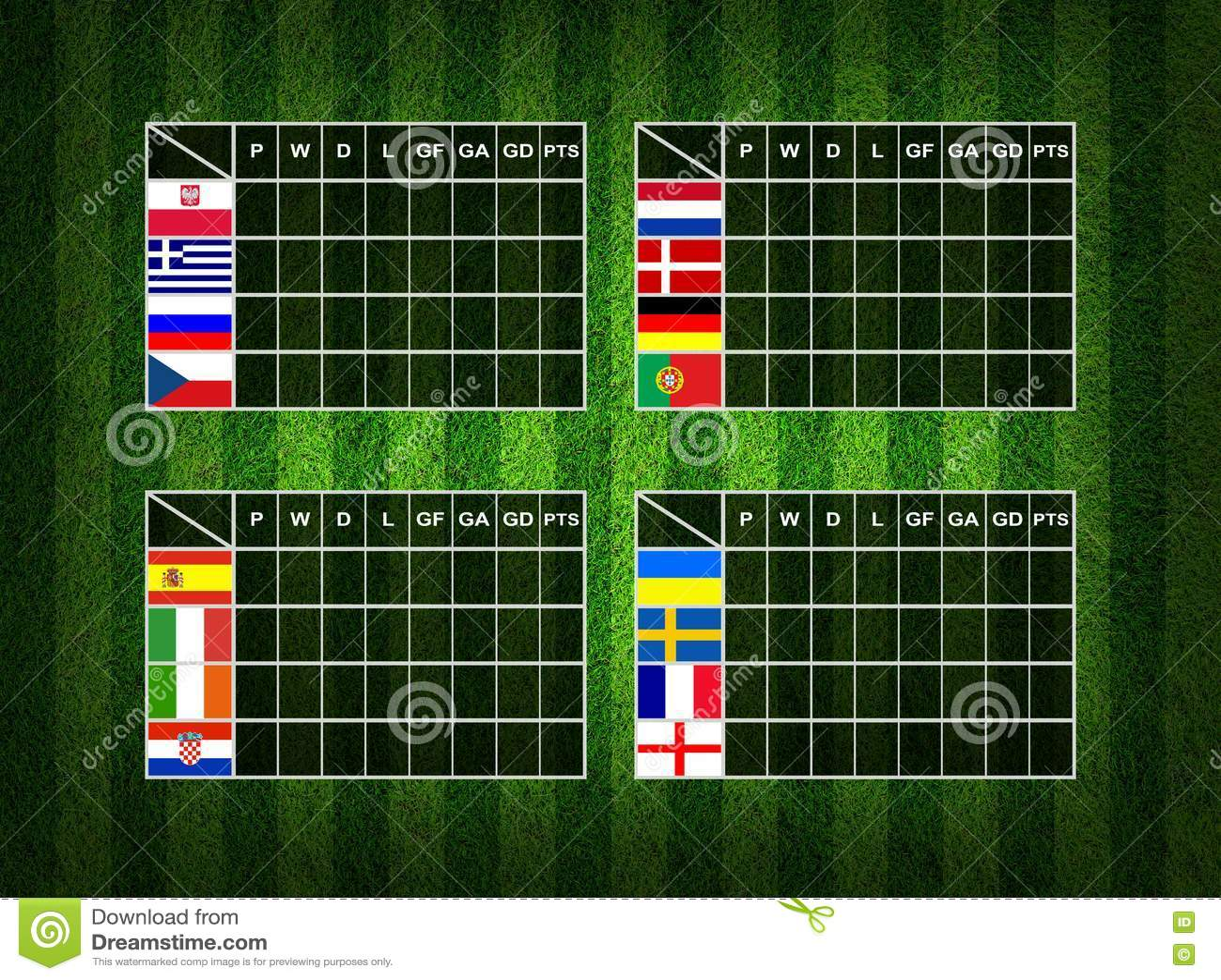 soccer sign up sheet