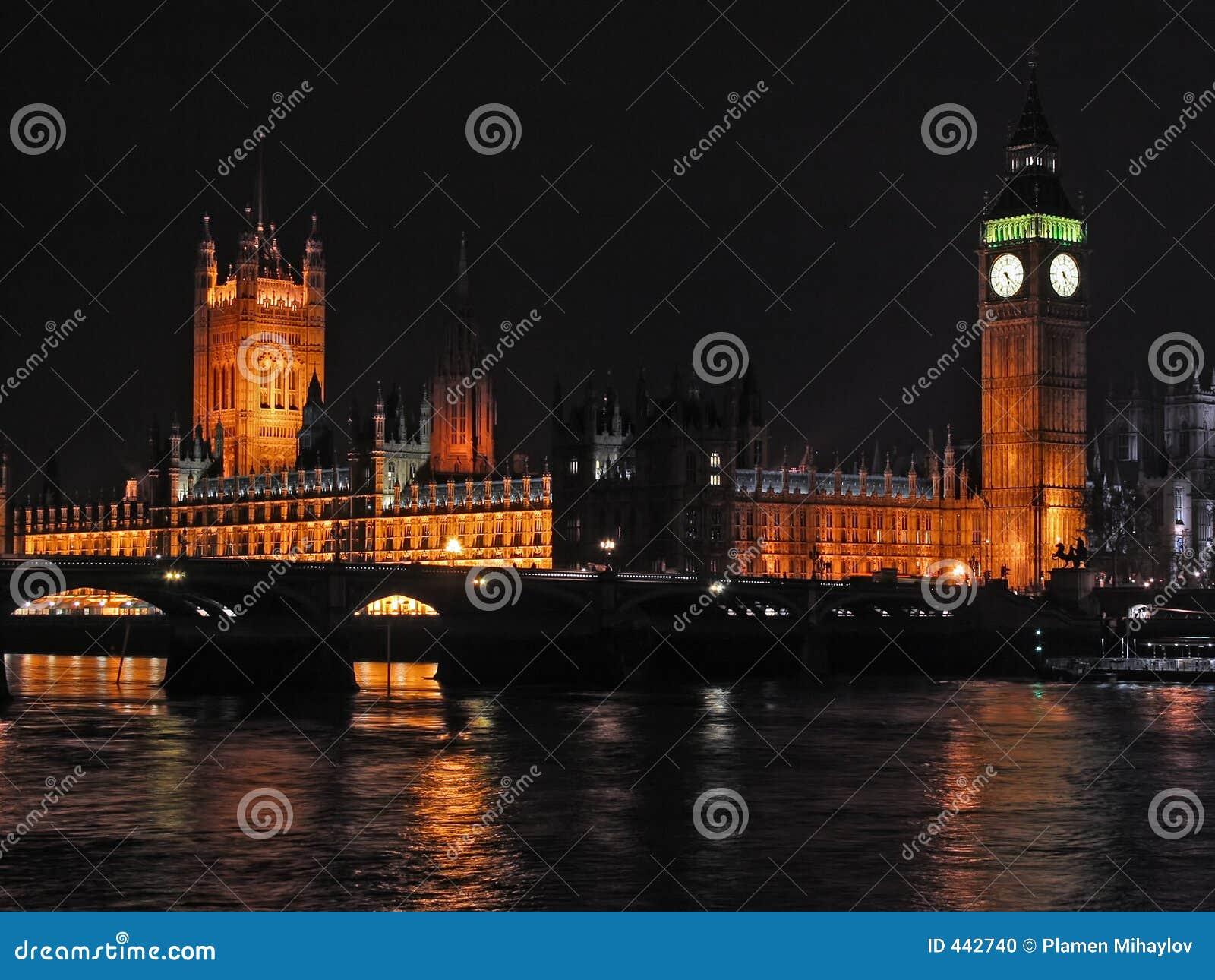 5个城市伦敦晚上场面
