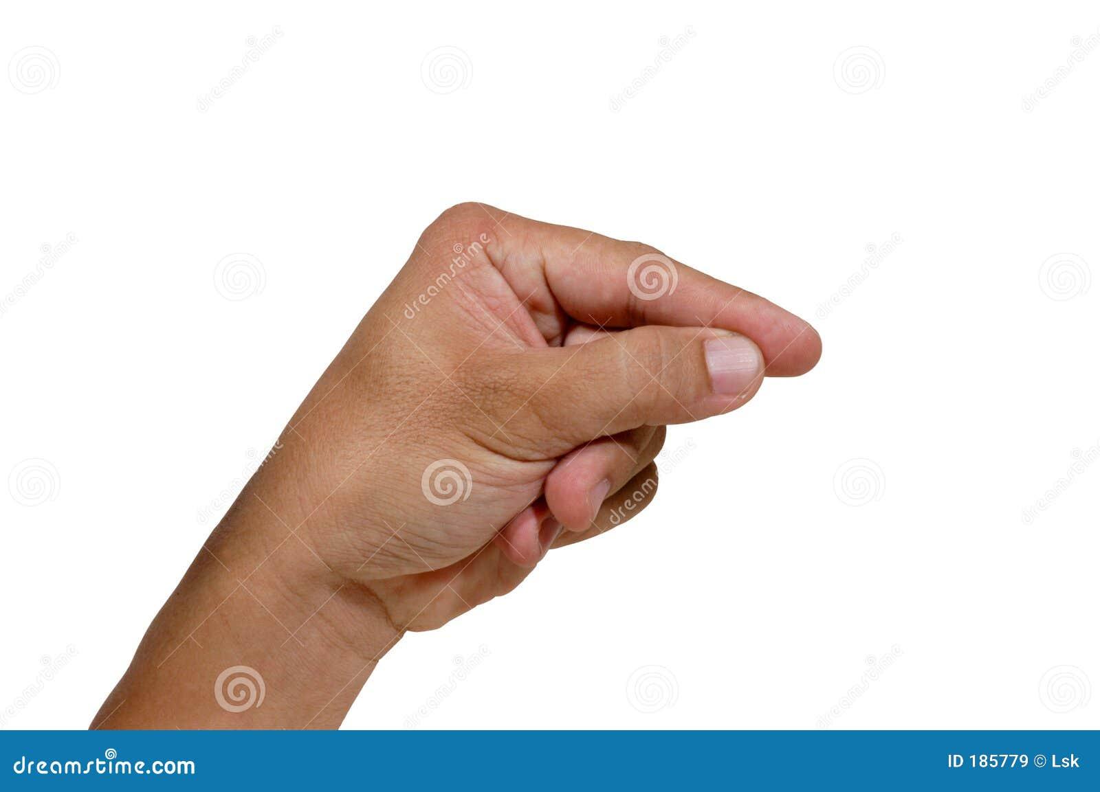 5个手指编号
