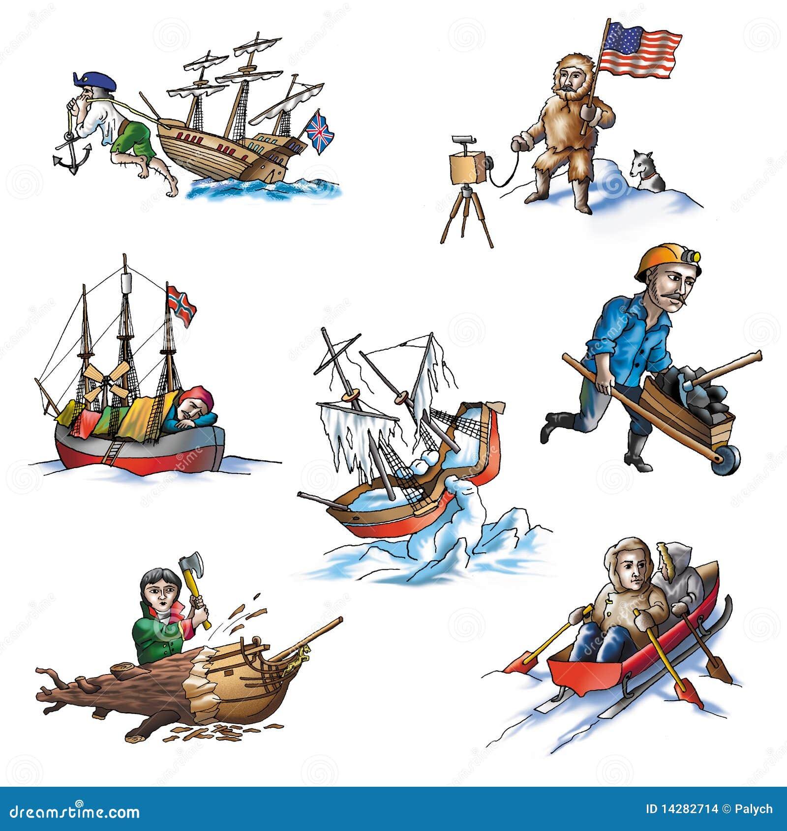 5北极著名的探险家图片