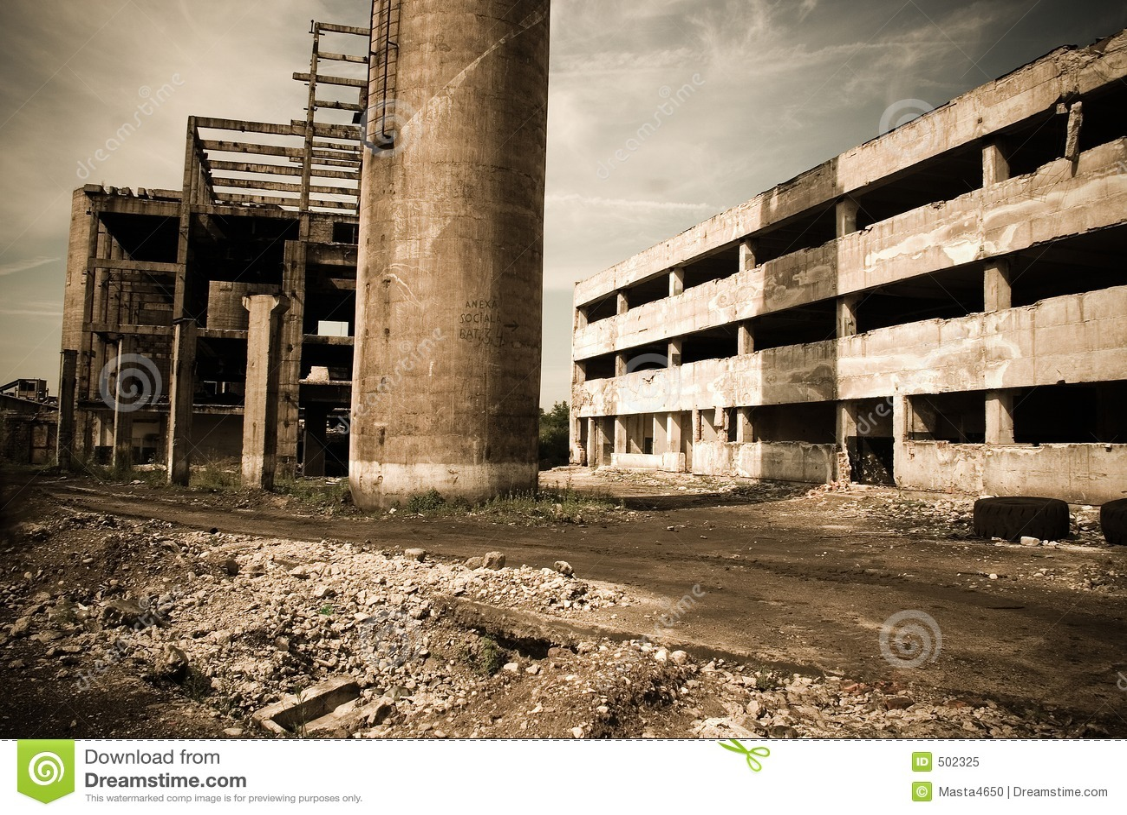 5 övergav industriellt