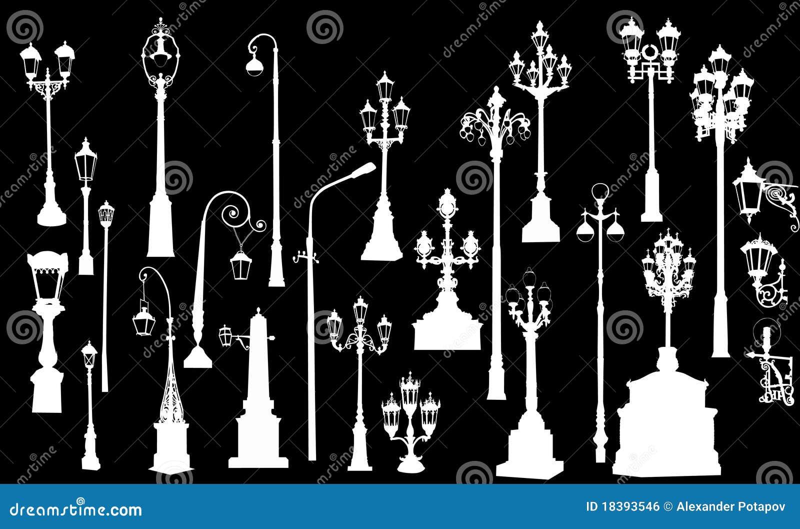 5 белизна улицы 20 светильников