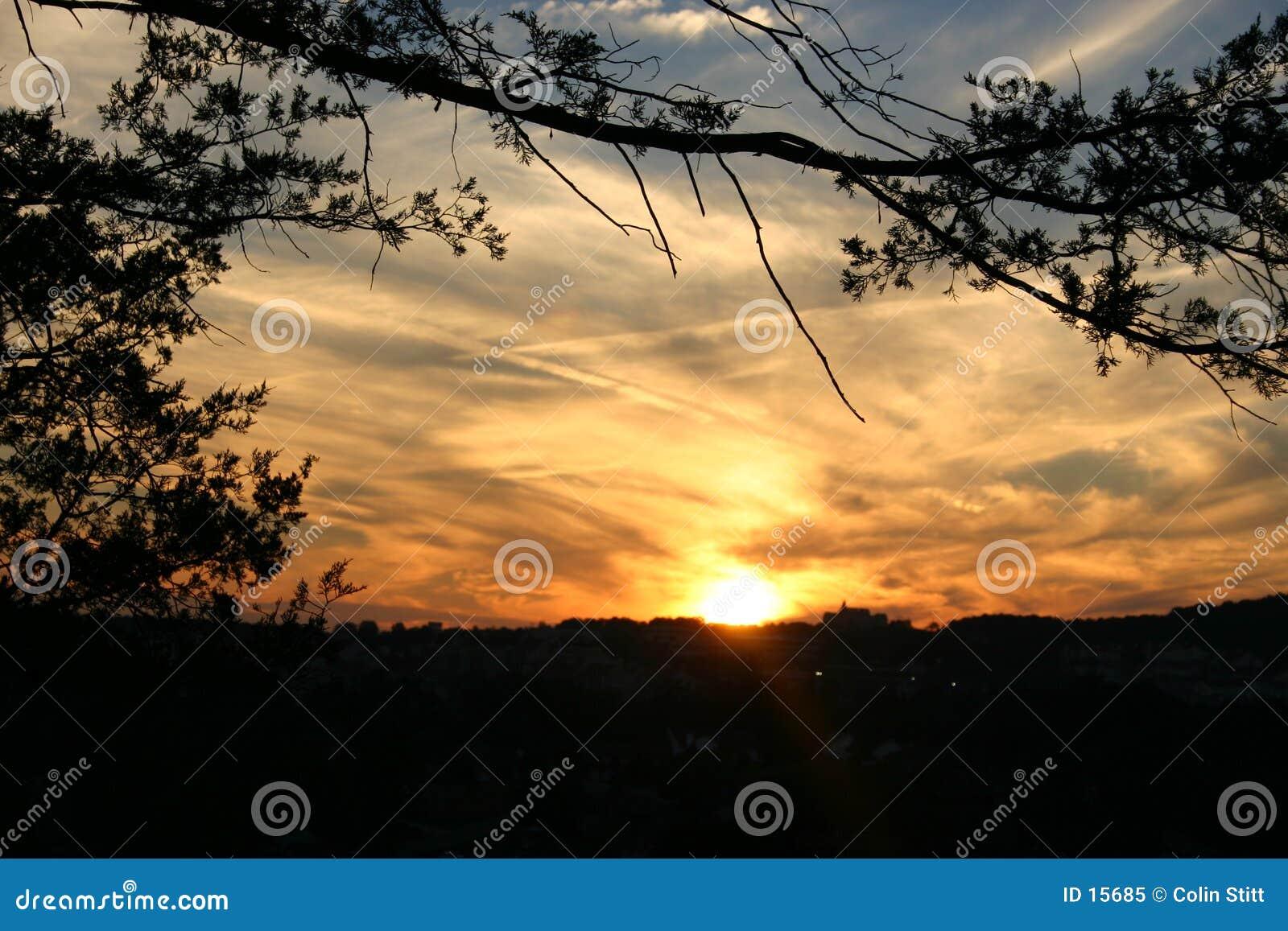 заход солнца 5
