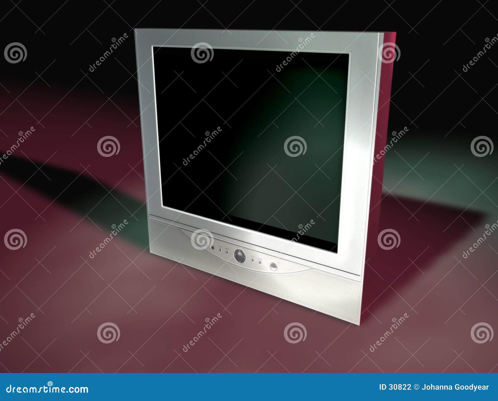 5个平面式屏幕电视