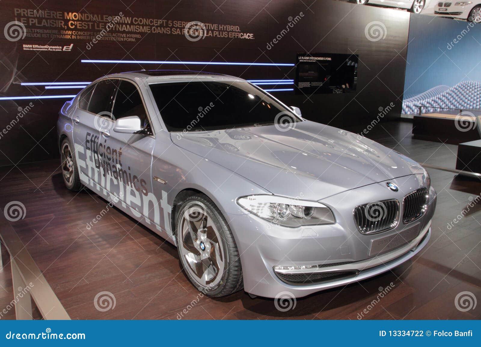 5 2010 bmw Geneva hybrydu silnika serii przedstawienie