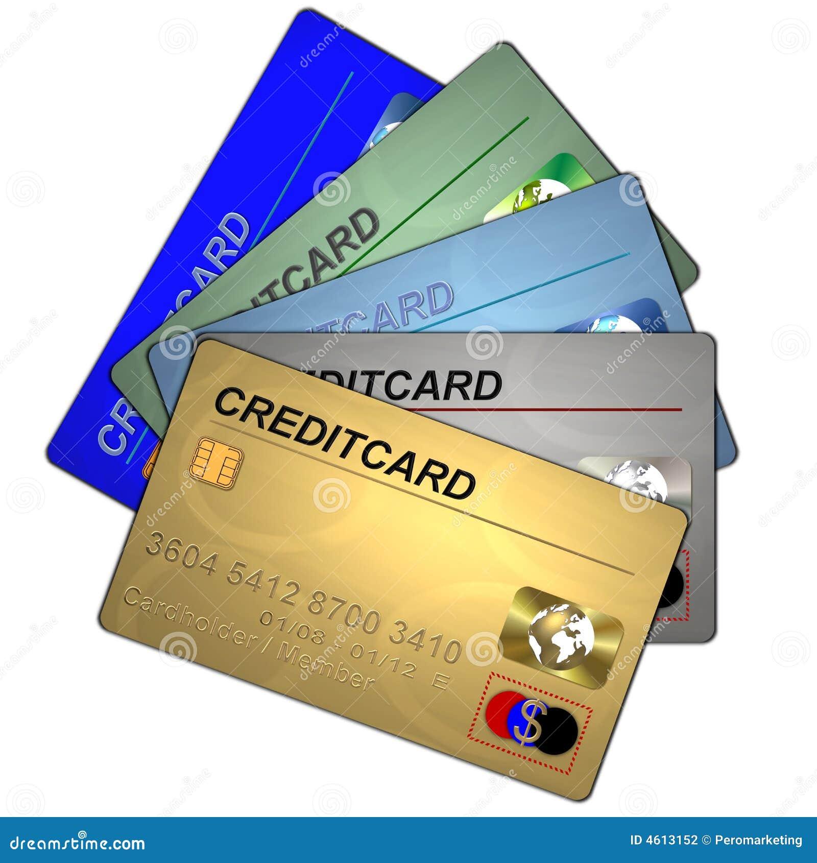5 creditcards