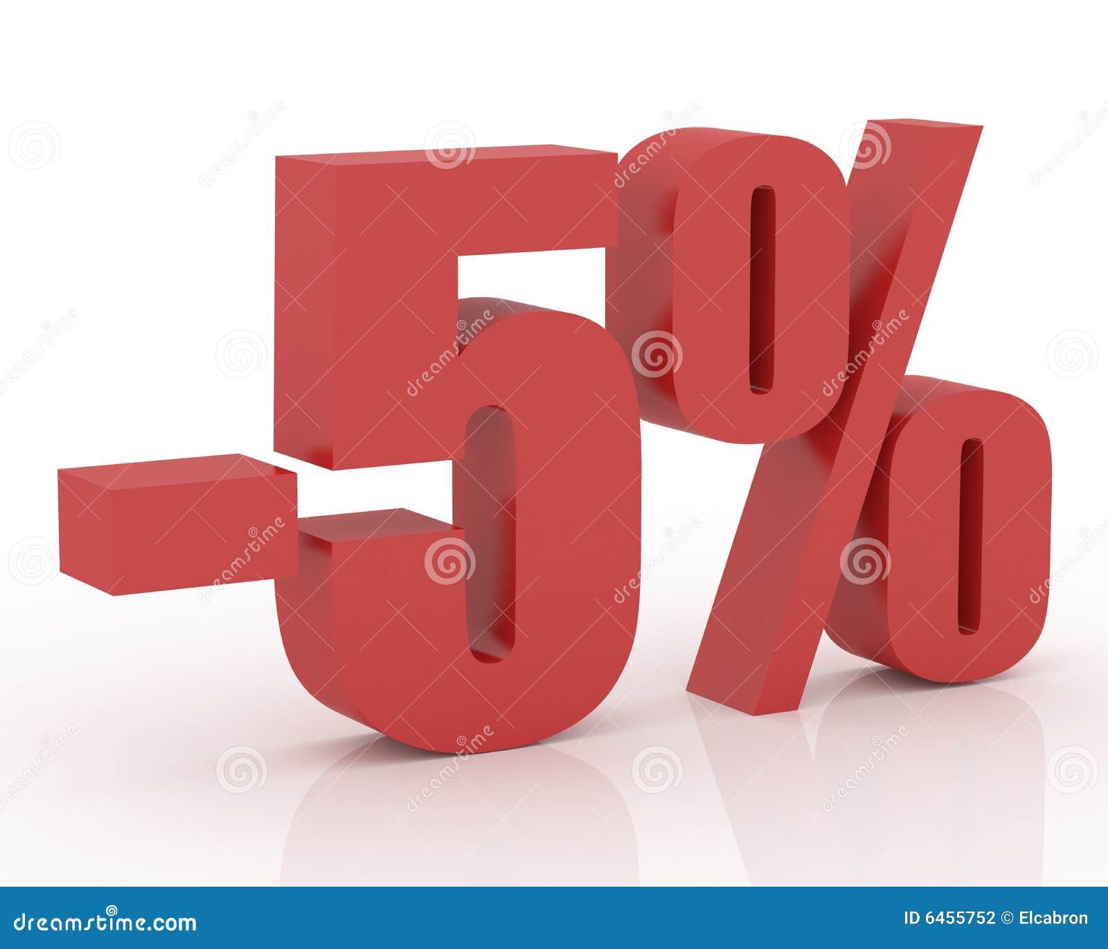 5  discount
