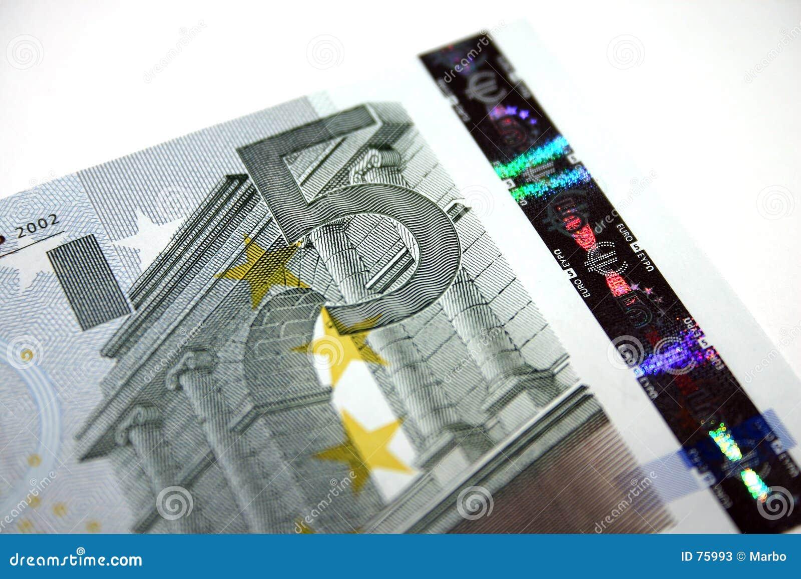 5 Euroanmerkung/-rechnung