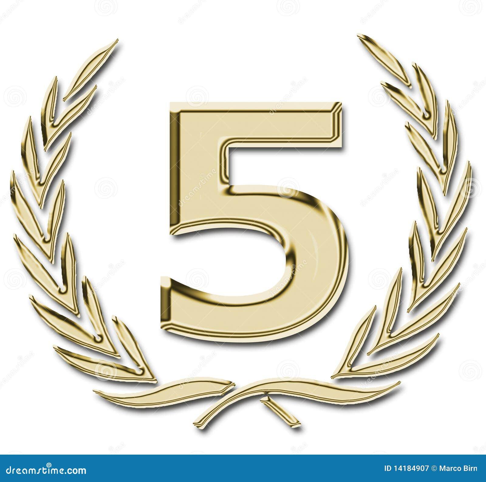 5 goud