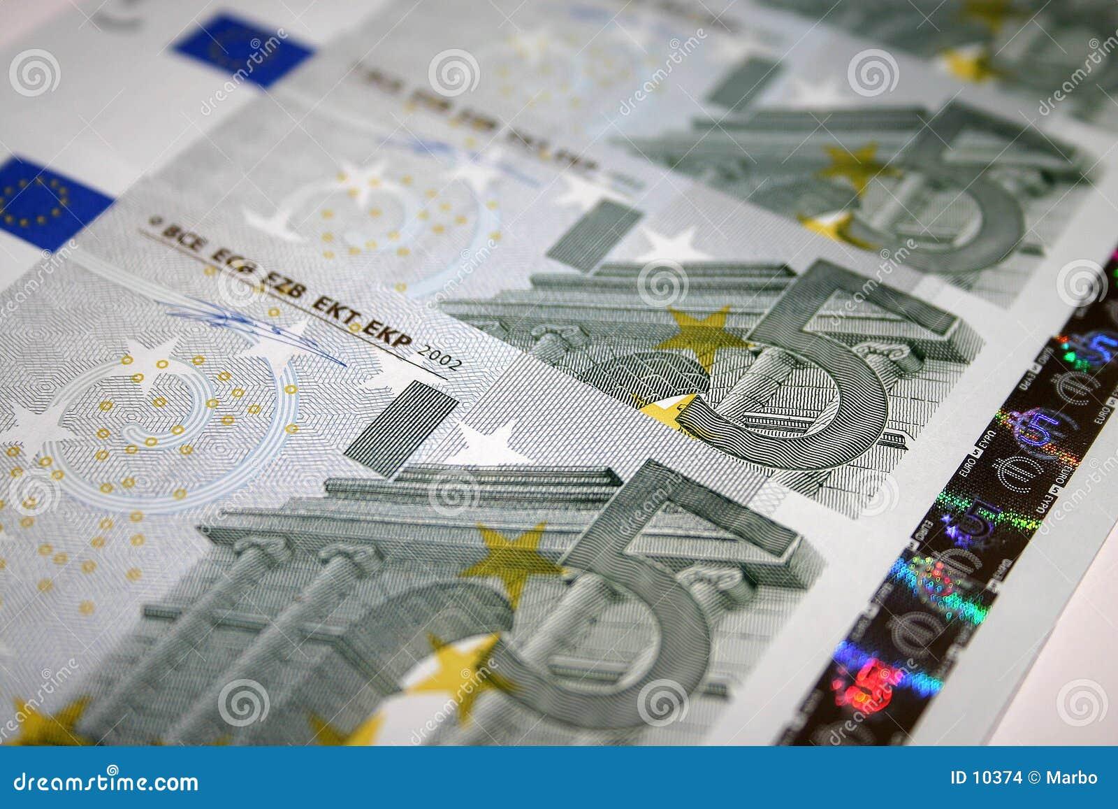 5 notas euro