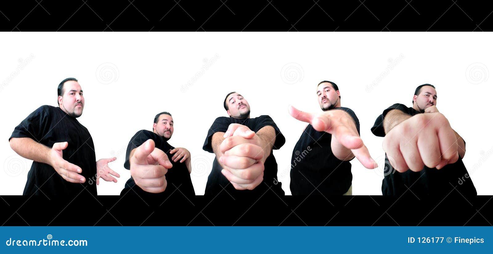 5 pose per voi