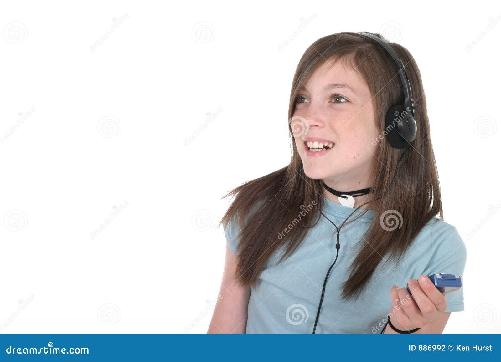 5 słyszała muzyki dziewczyn young nastolatków.