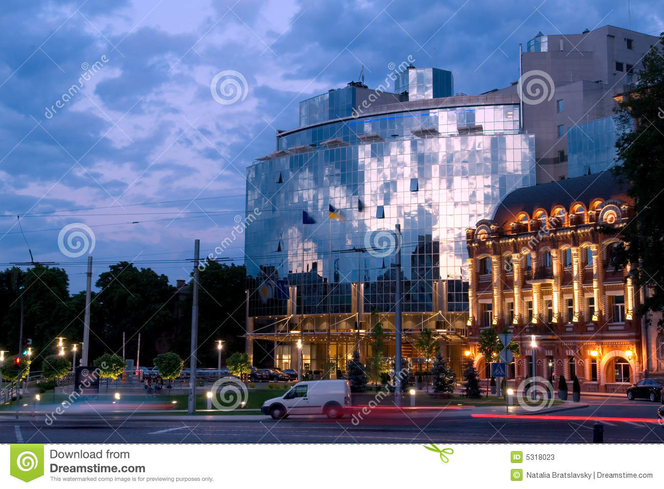 Star Hotel In Kiev Stock Photos - Image: 5318023