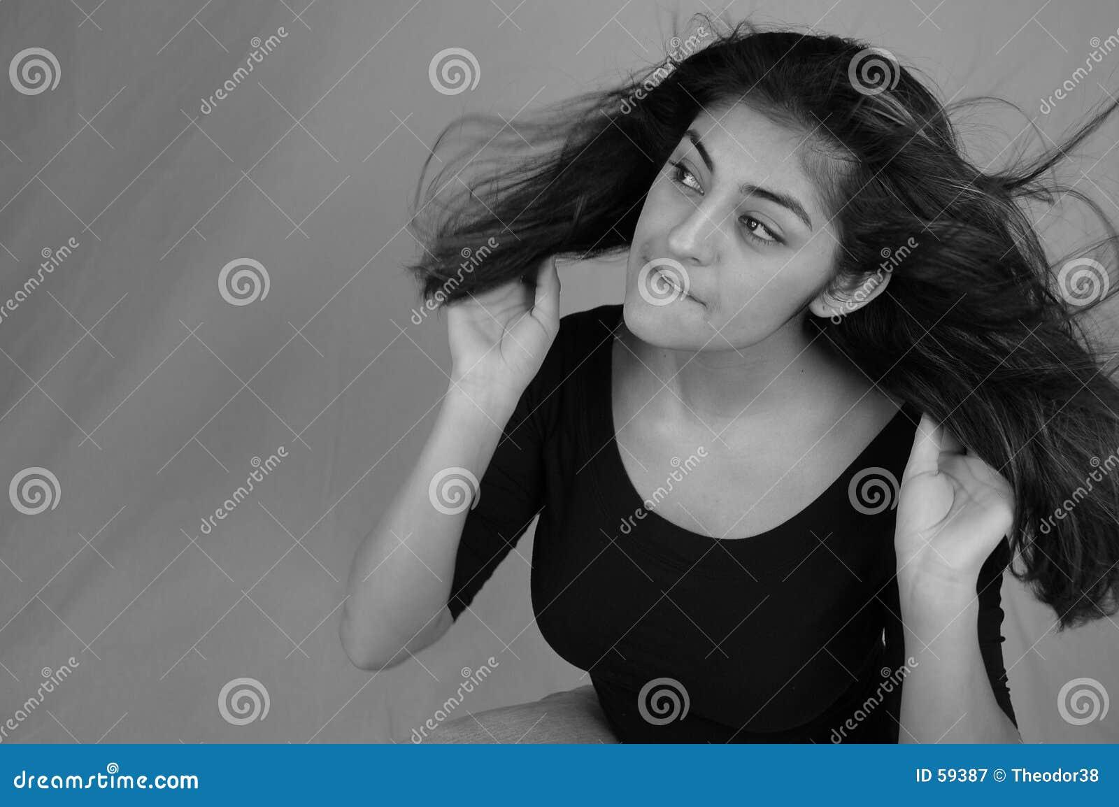 5 tańczącego włosy