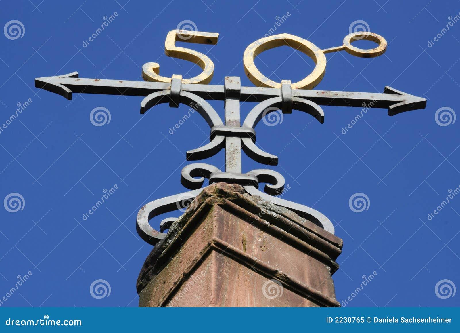 50ό σύμβολο βαθμού