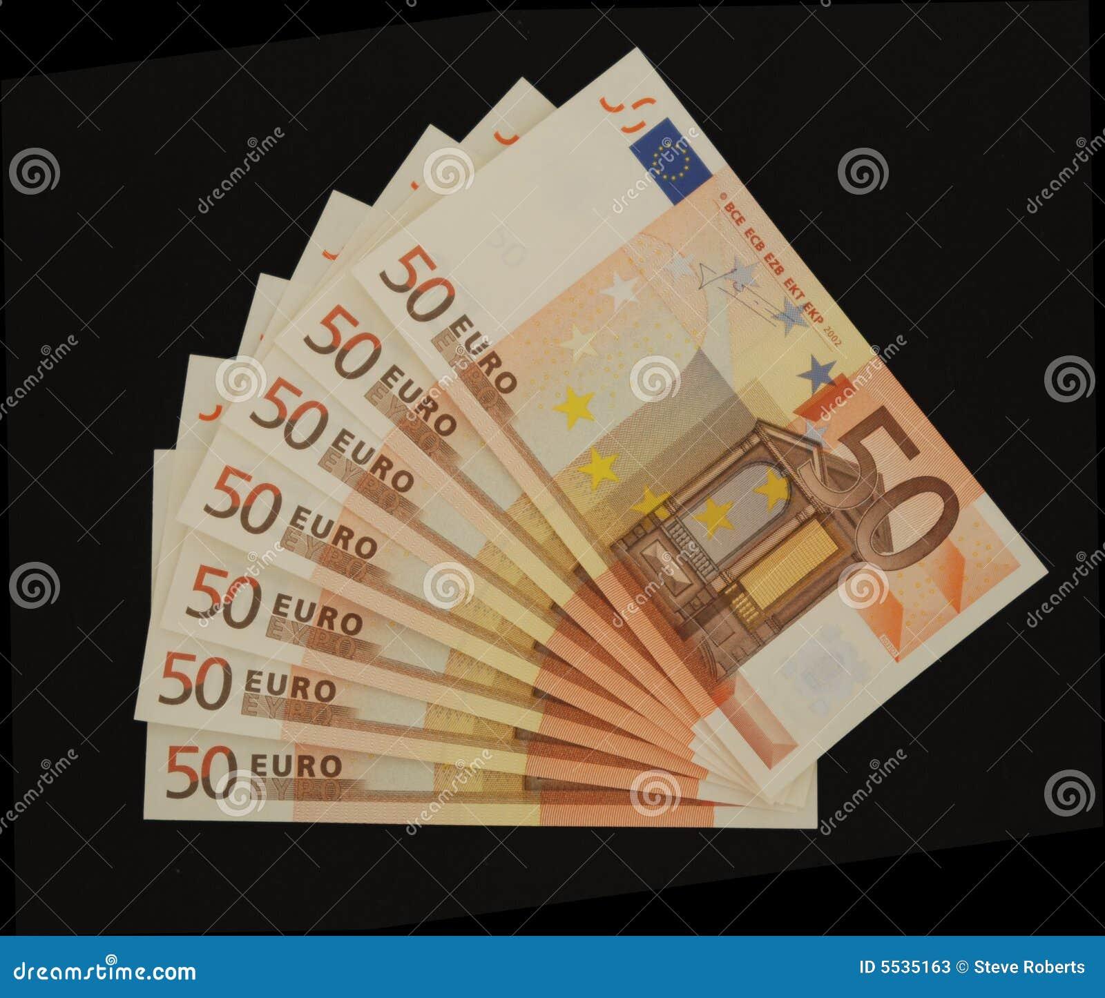 50 μαύρες ευρο- σημειώσεις
