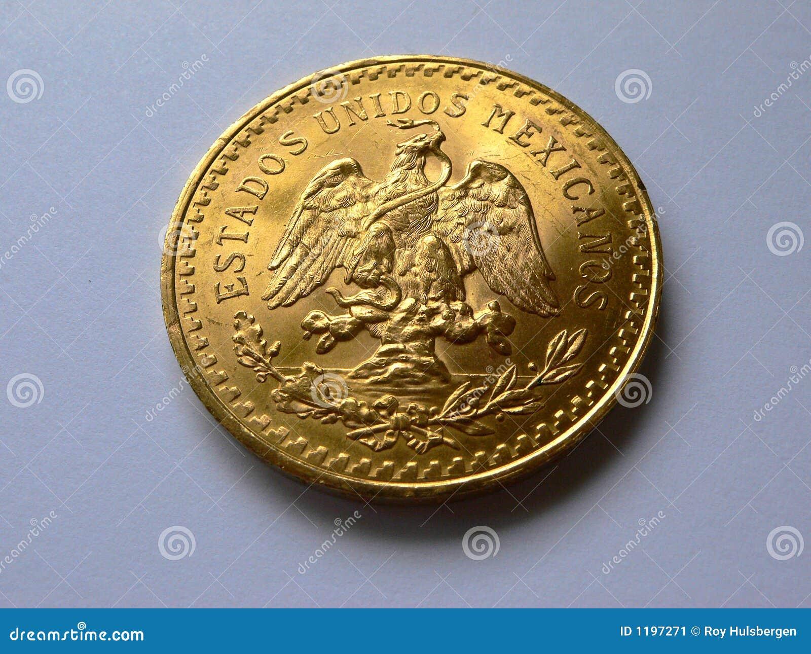 50 песо золота угла