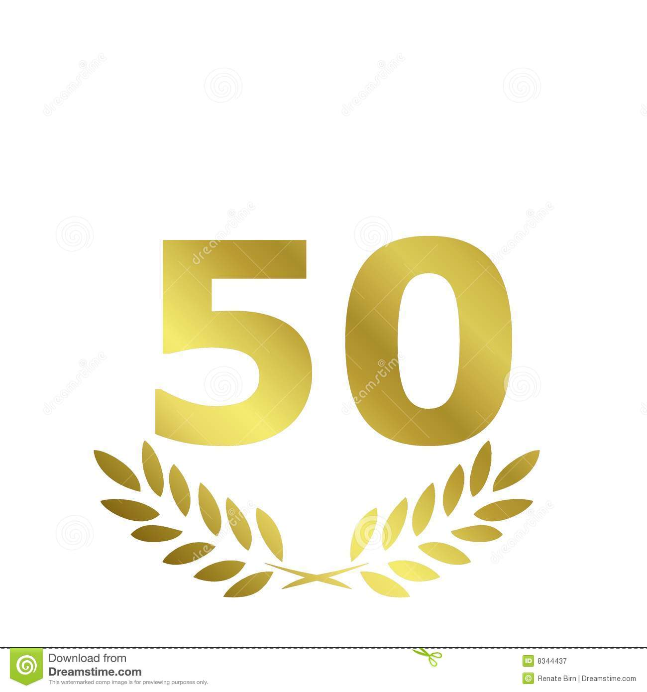 50 Anniversary Royalty Free Stock Photography Image 8344437 intended for Free Clip Art 50
