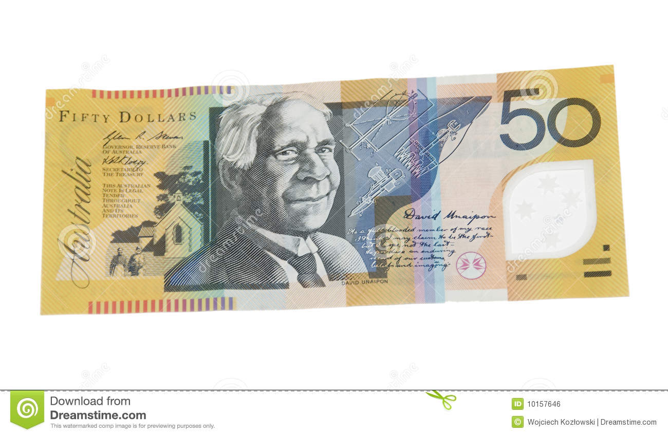 50 Australian Dollar Banknote Stock Photo - Image of australia, banknote: 10157646