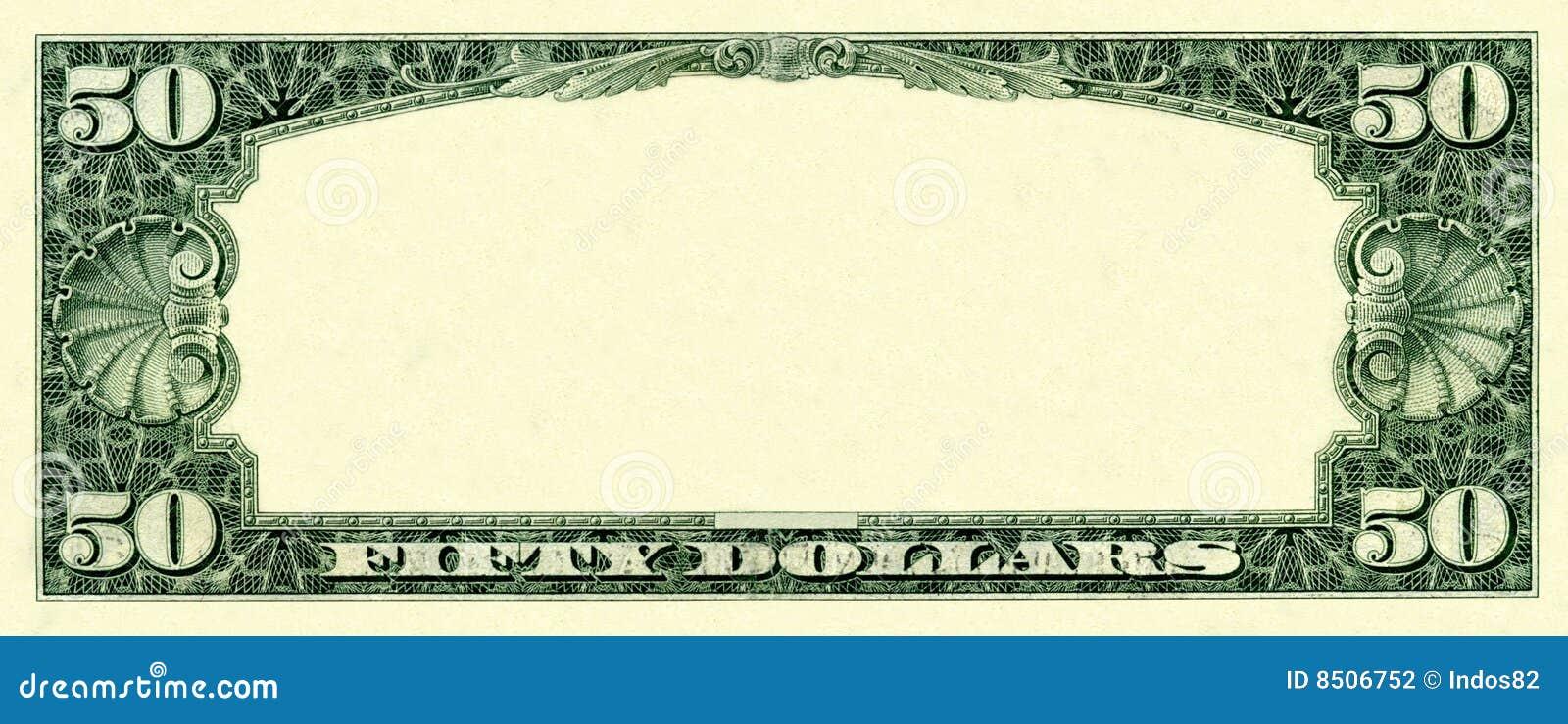 50 Dollars Frame Stock Photography - Image: 8506752