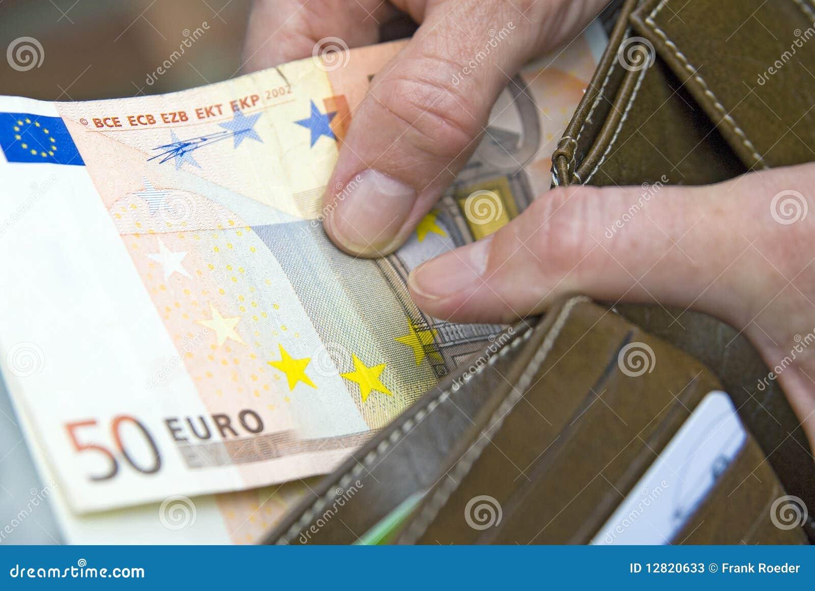 50 euro stock image image of brown bill plug pull for Wohnwand 50 euro