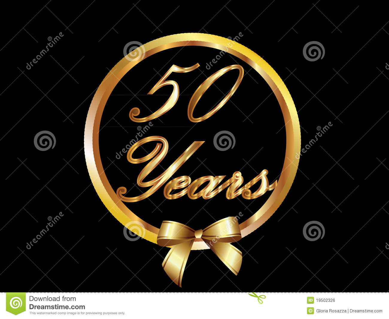 clipart 50 jaar Gouden 50 Jaar Stock Illustrations, Vectors, & Clipart – (254  clipart 50 jaar