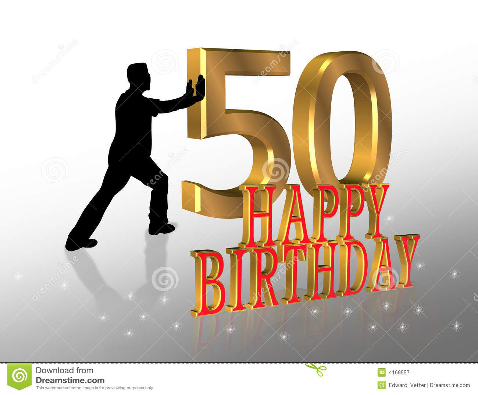 50 Kartkę Urodzinową Zaproszenie Ilustracji Ilustracja