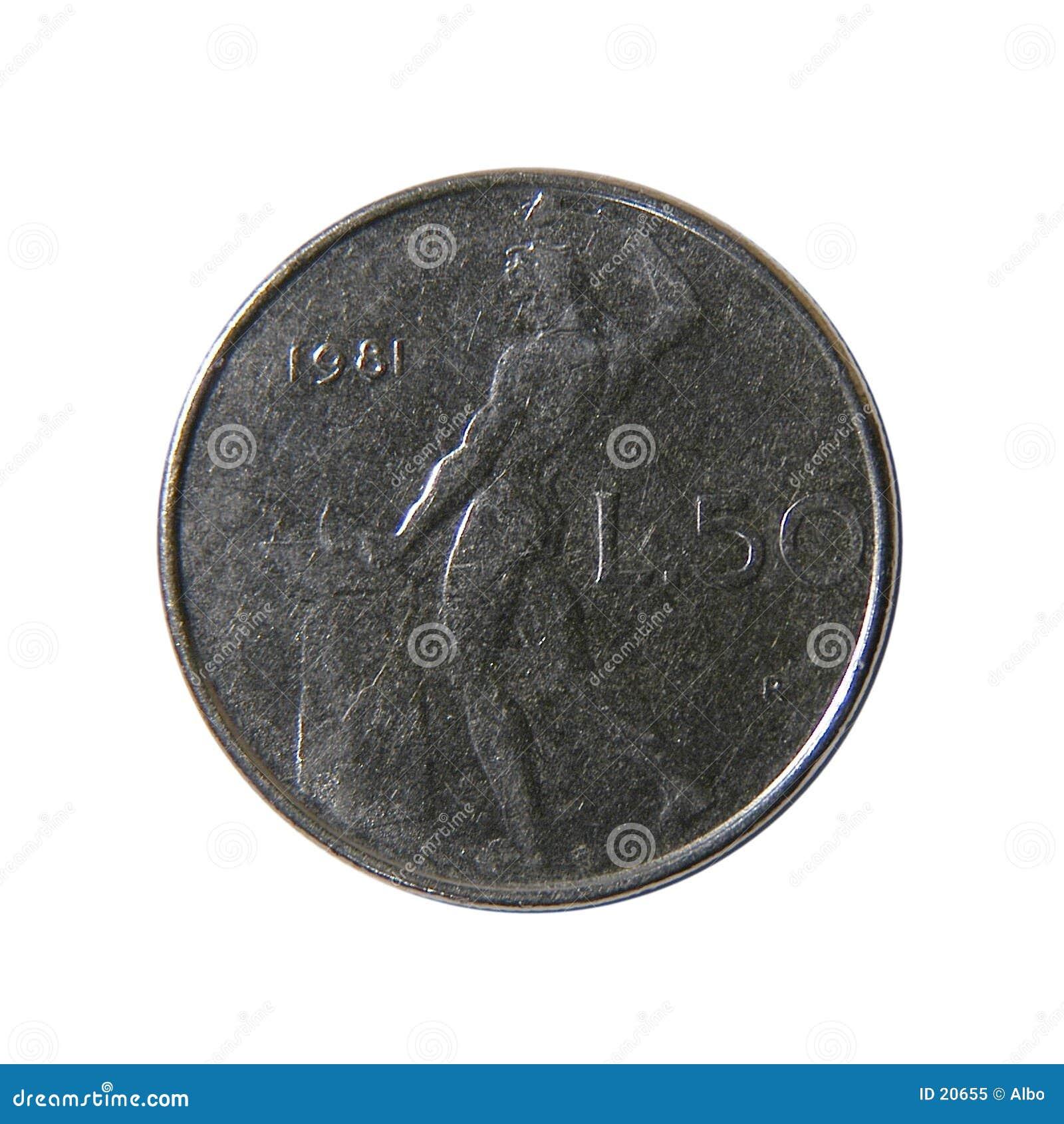 50 liras italianas