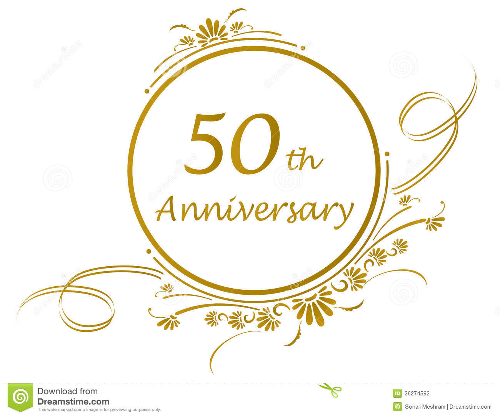 50 o dise o del aniversario fotograf a de archivo imagen