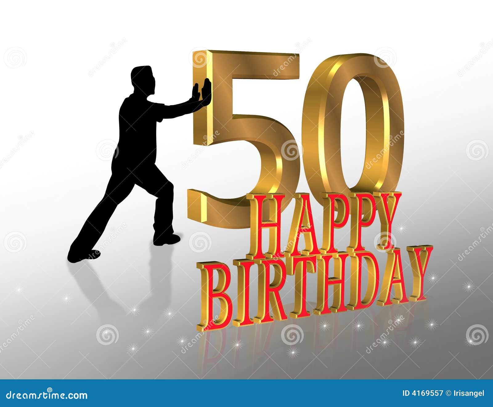 50 o tarjeta de la invitaci n del cumplea os stock de - Tarjetas 50 cumpleanos ...