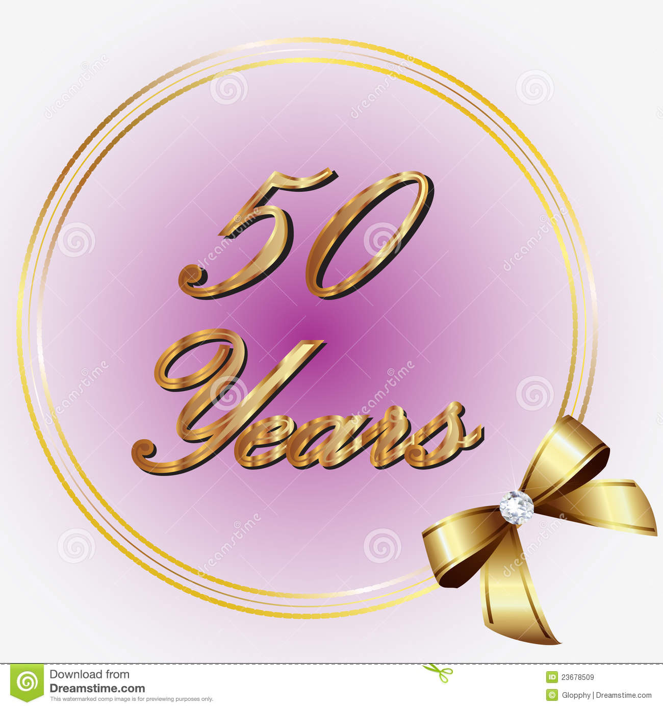 50 years anniversary royalty free stock images image 23678509