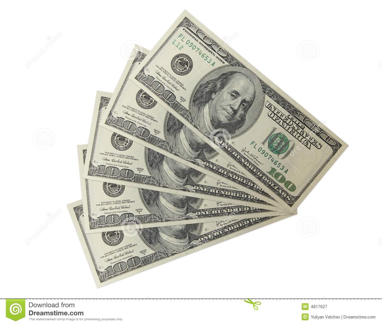500 Dollars 2 Royalty Free Stock Photography Image 4817627