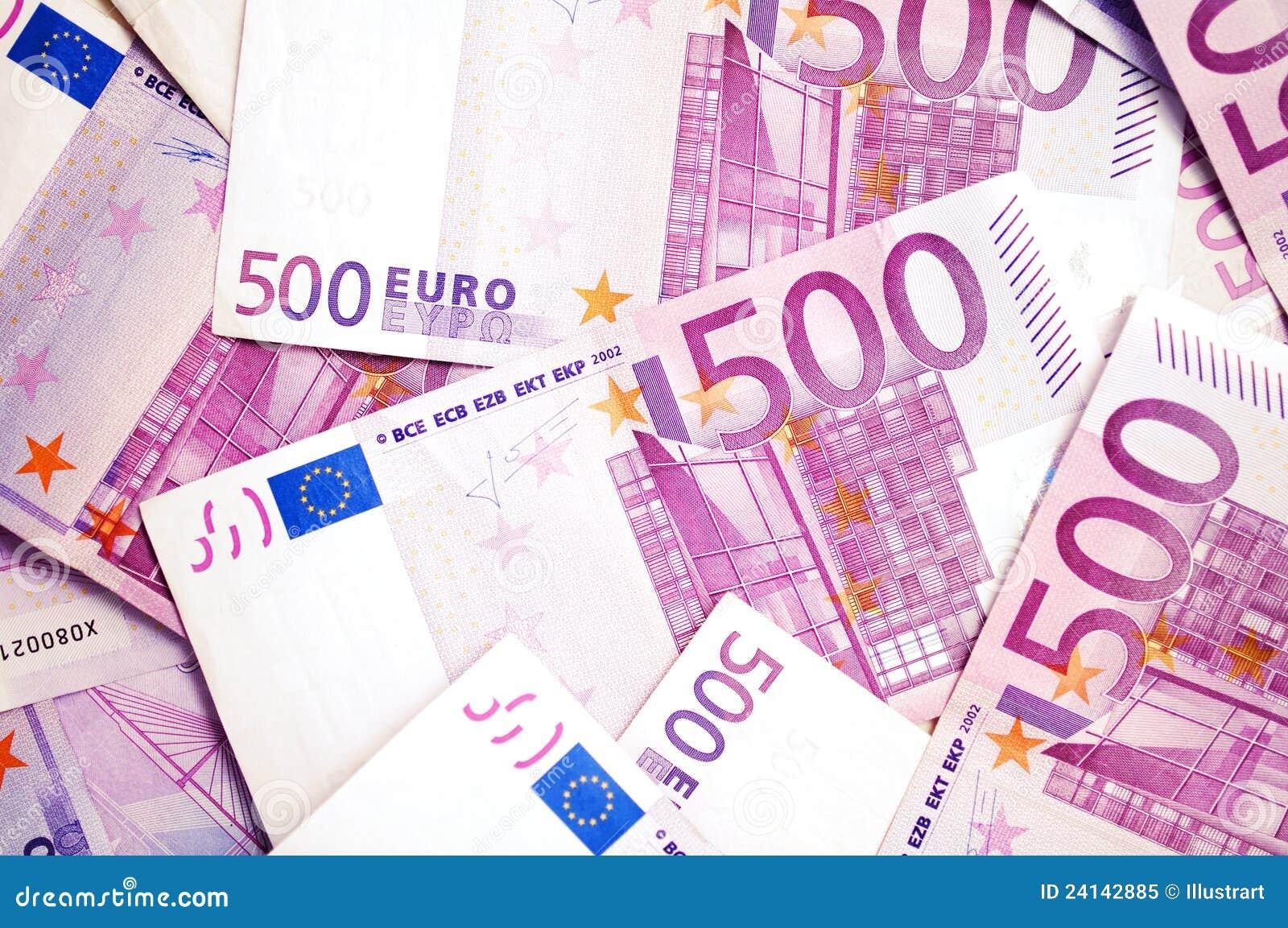 500 euro banconote dei soldi immagine stock immagine di for Ecksofa 500 euro