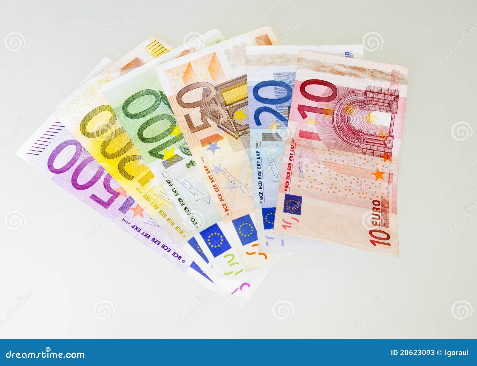 500 Euro Bill Stock Photos - Image: 20623093