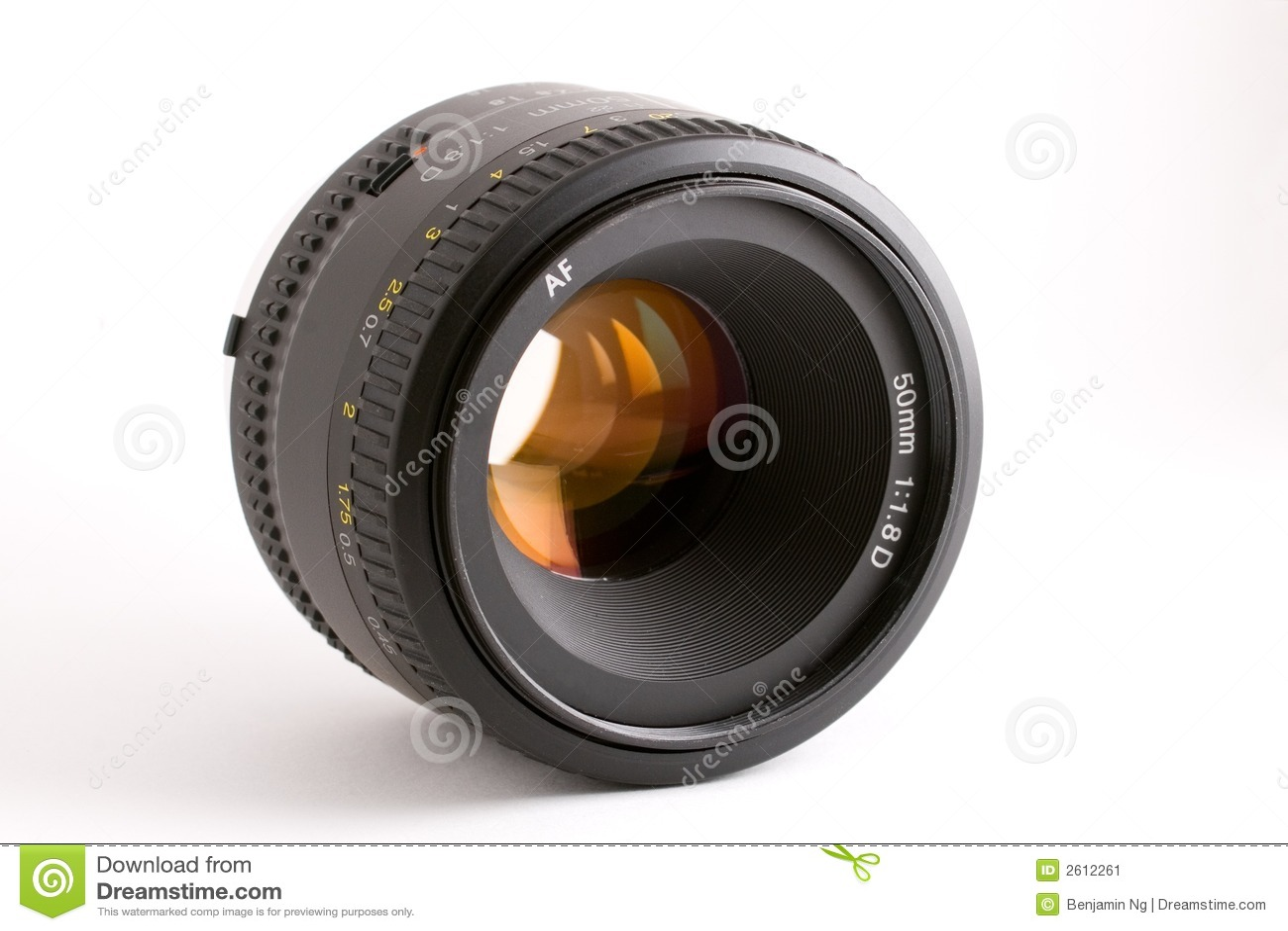 50mm自动照相机重点透镜